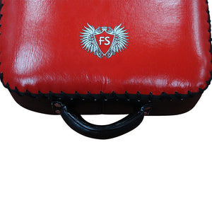 InFightStyle Low Kick Shield - Red - InFightStyle Muay Thai Gear, Low Kick Shield
