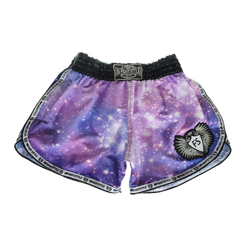 InFightStyle Training Line Galaxy Shorts