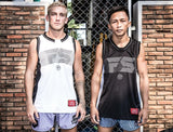 "InFightStyle ""Line Up"" Jersey - Black - InFightStyle Muay Thai Gear, tank top"