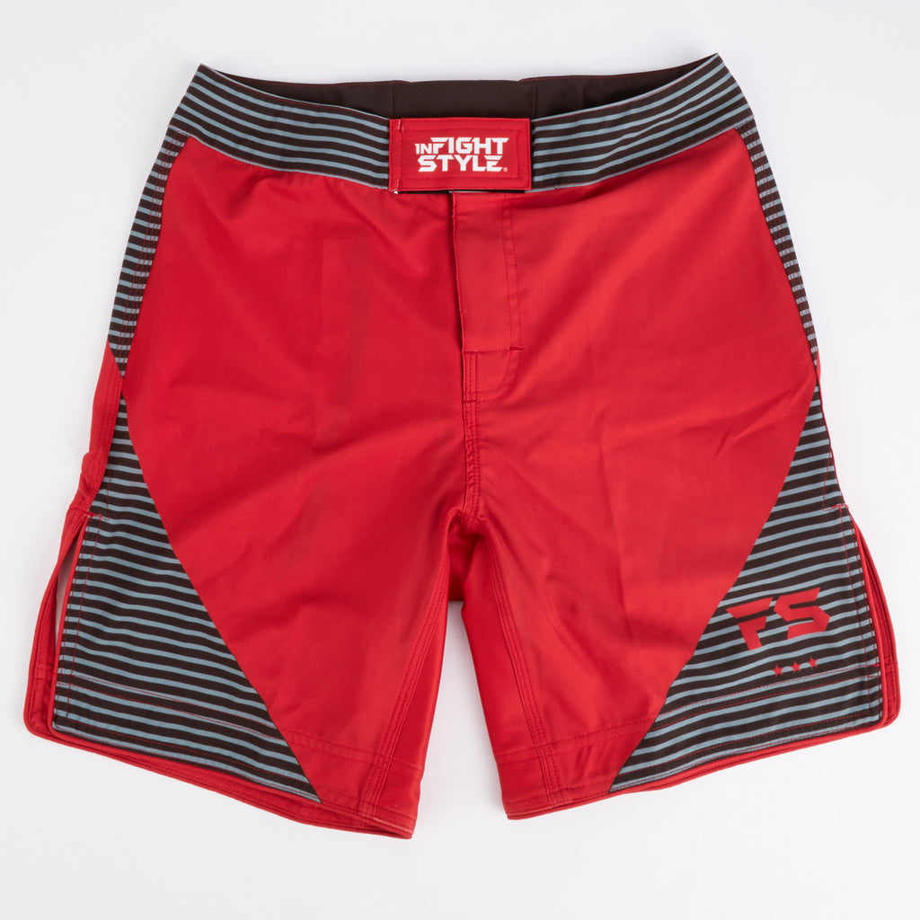 InFightStyle Complex Training Short - Red - InFightStyle Muay Thai Gear, MMA Shorts