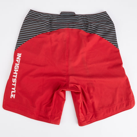InFightStyle Complex Training Short - Red