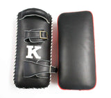 K Brand Legendary Thai Pads - Red - InFightStyle Muay Thai Gear, Thai Pads