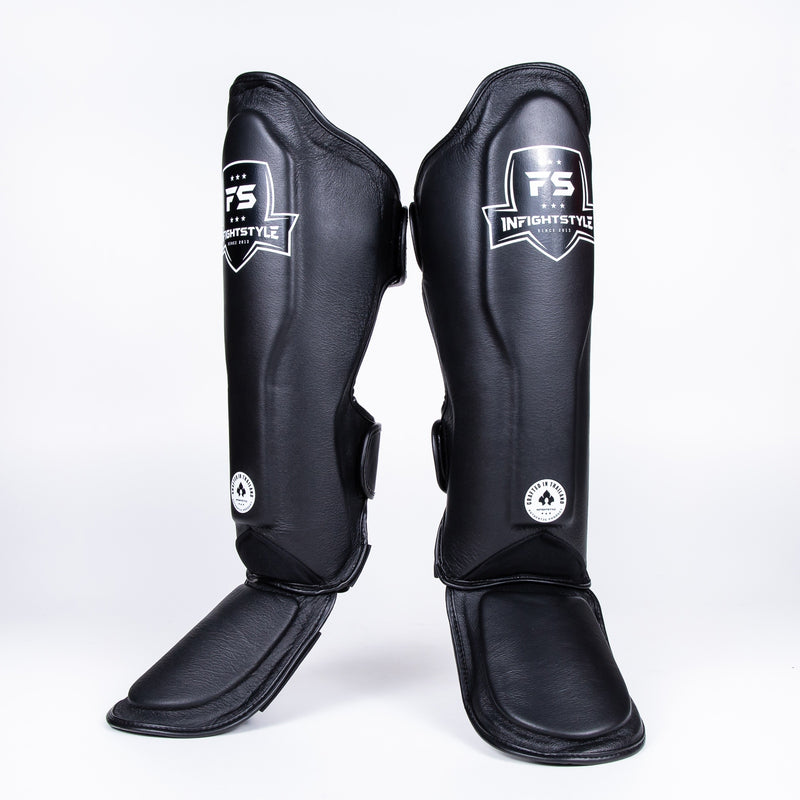 InFightStyle Classic Shinguards - Black