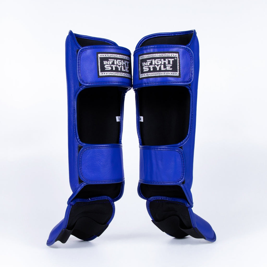 InFightStyle Pro Shinguards - Blue
