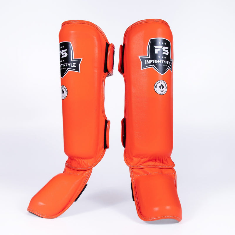 InFightStyle Pro Shinguards - Orange