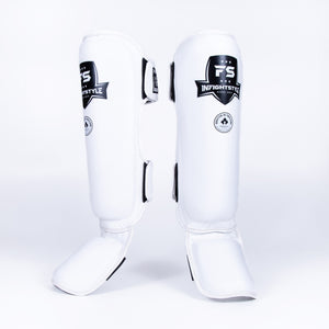 InFightStyle Pro Shinguards - White