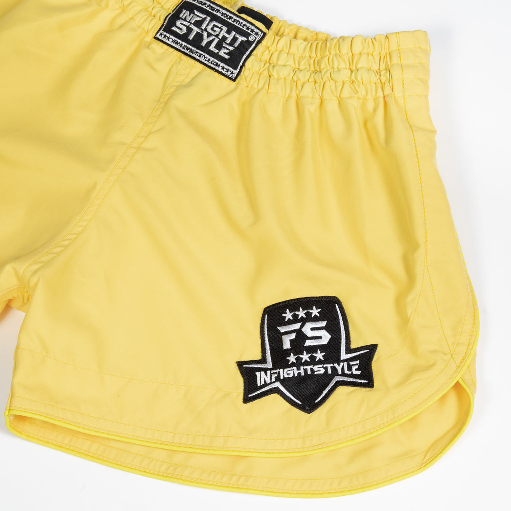 InFightStyle Training Line - Pastel Yellow