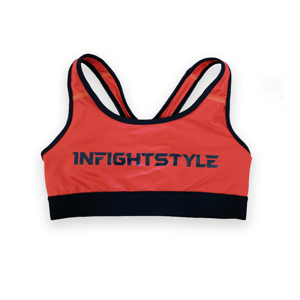 InFightStyle Classic Sports Bra - Red