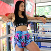 "InFightStyle ""Blue Bliss"" Retro Short - InFightStyle Muay Thai Gear, Retro Shorts"