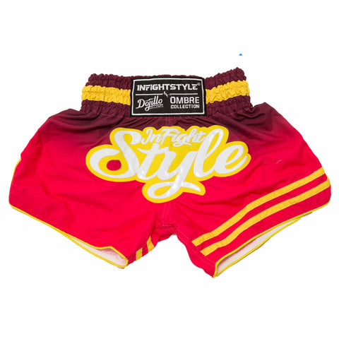 InFightStyle + Dojilo Athletics Ombré Retro Short - Varcity