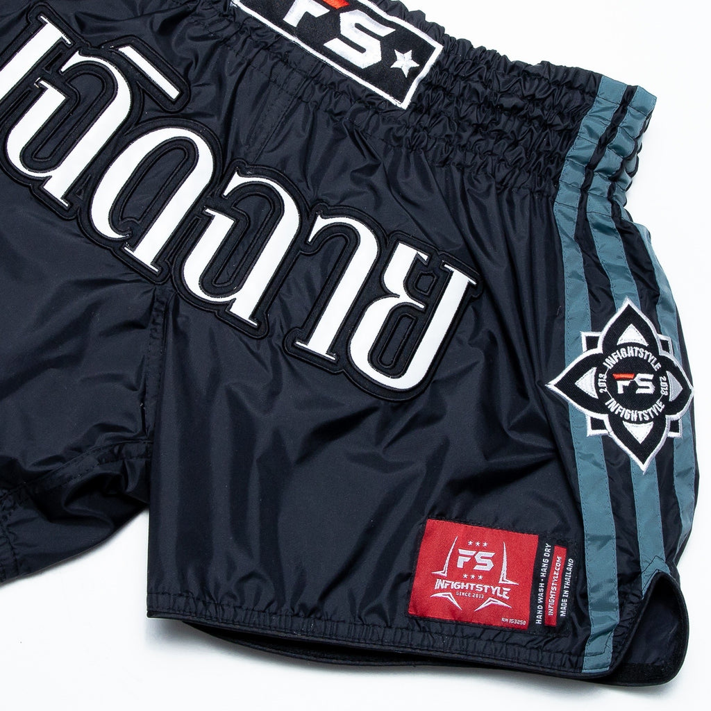 InFightStyle Nylon Lotus Retro - Black/Gray