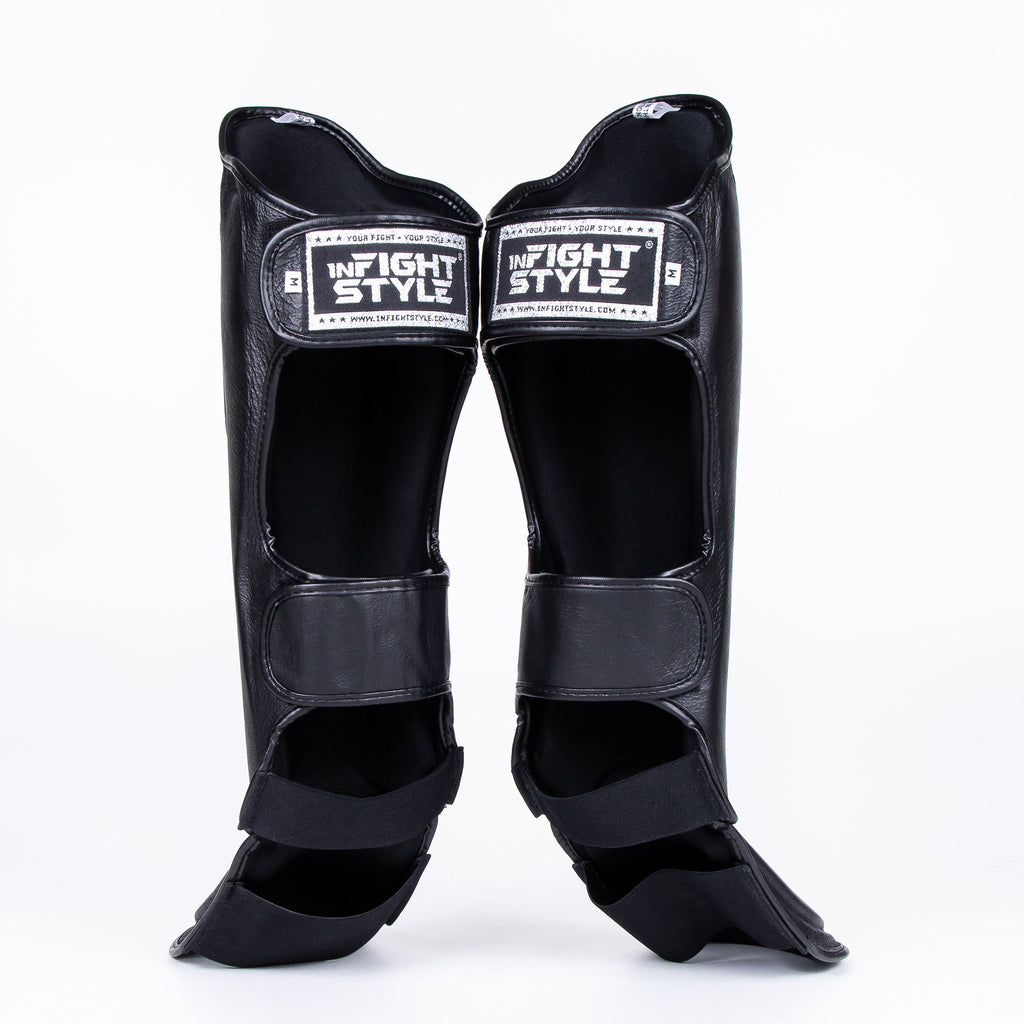 InFightStyle Pro Shinguards - Black