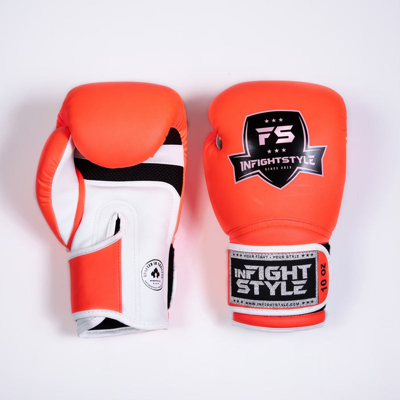 "InFightStyle ""Enfused"" Muay Thai Boxing Glove - Creamsicle"