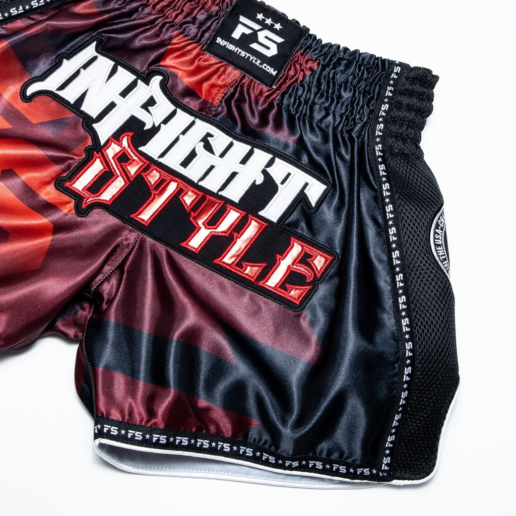"InFightStyle ""OD"" Retro - Red"