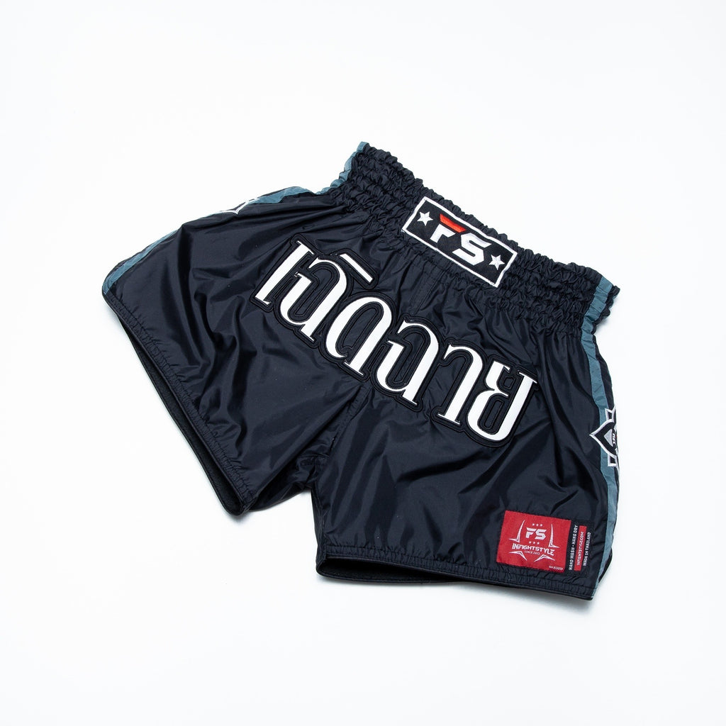 InFightStyle Nylon Lotus Retro - Black/Grey