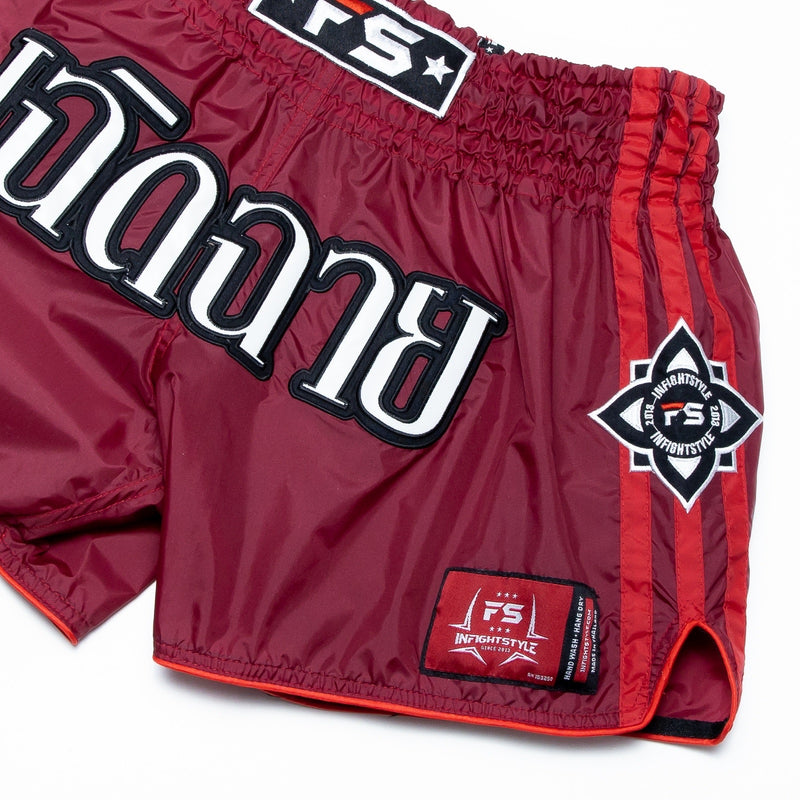 InFightStyle Nylon Lotus Retro