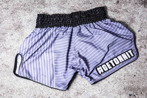 Onnit x InFightStyle Performance Retro Short - Platinum Grey