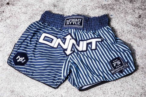 Onnit x InFightStyle Performance Retro Short - Faded Blues