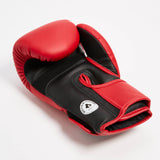 "InFightStyle ""Enfused"" Muay Thai Boxing Glove - Red - InFightStyle Muay Thai Gear, Boxing Gloves"