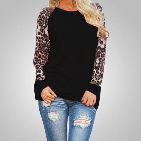 Leopard Instinct Loose T-Shirt