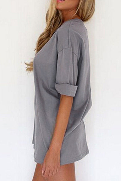 Go Casual Loose Mini Dress