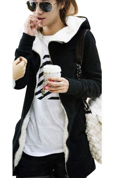 Long Sleeves Hoody Jacket