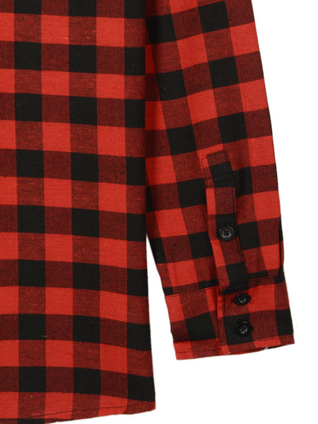 Chequered Love Long Lined Shirt