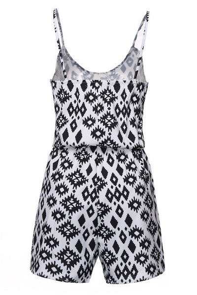 Classic Black and White Rompers