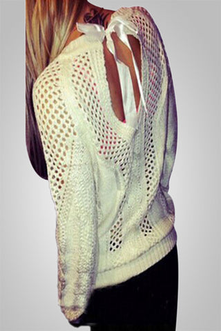 Knit Full Sleeve O Neck Sweater