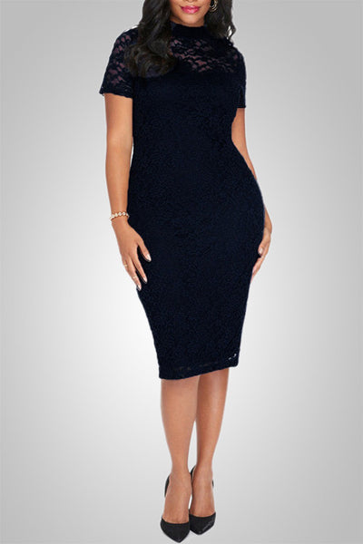 Party Diva Lace Bodycon Dress