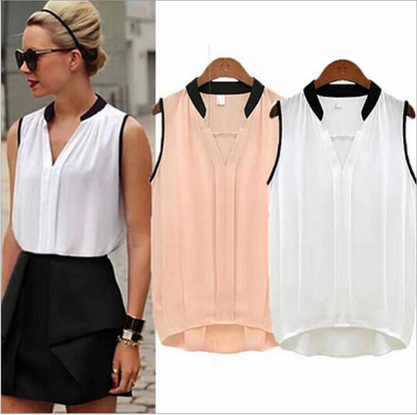 Daydream Sleeveless V-Neck Top