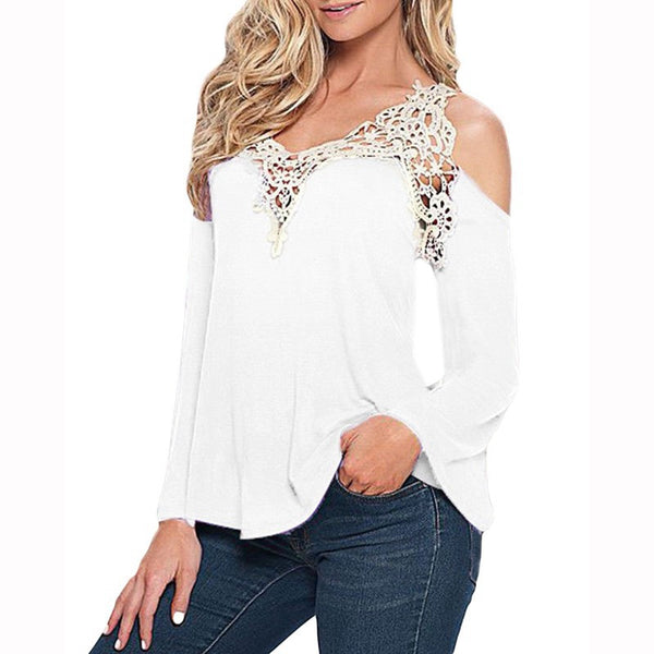 Lacy Gal Smart Off Shoulder Top