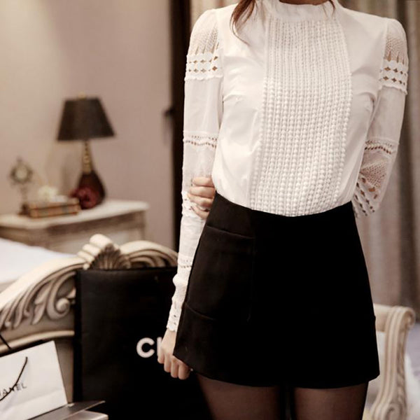 Super Elegant Lace Date Top