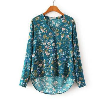 Floral Instinct Lovely Slim Top