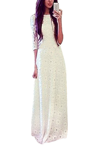 Beauty Meets Elegance Long Dress