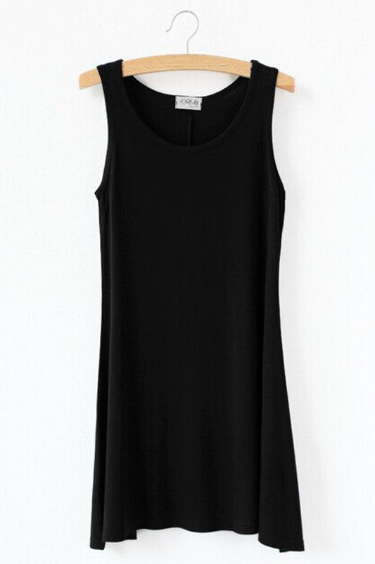 Sporty Long Vest Summer Top