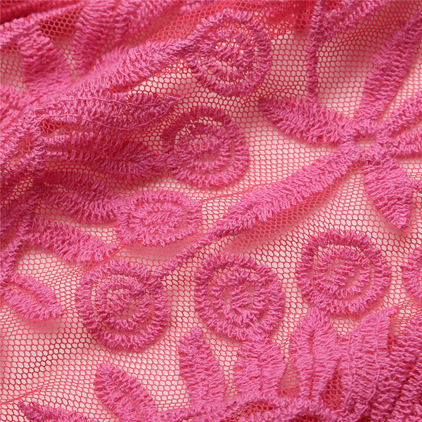 Lovely You Long sleeves Lace Crochet