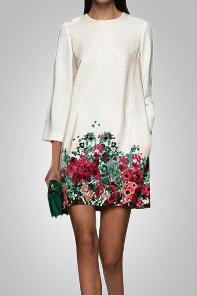 Feel Fresh Floral Print Dress