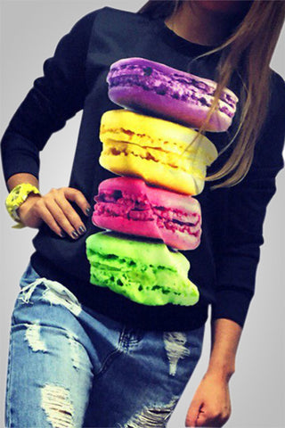 Trendy Colorful 3D Printed Top