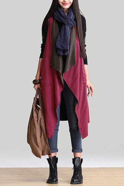 Wear Both Side Long Cardigan