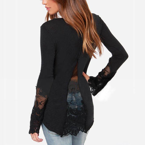 Walk In Style Super Sexy back Lace Top