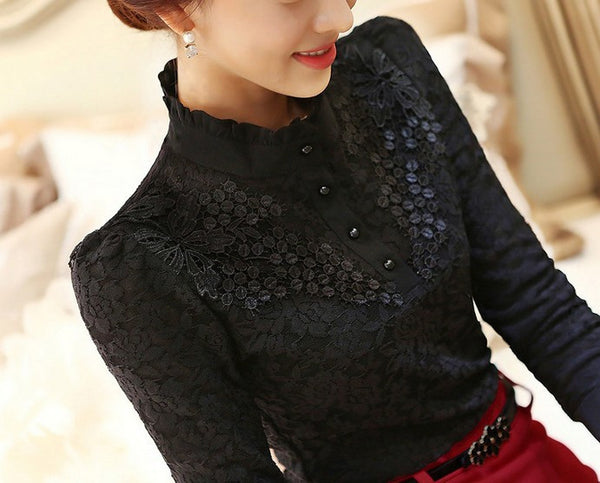 High On Fashion Super Elegant Lace Top