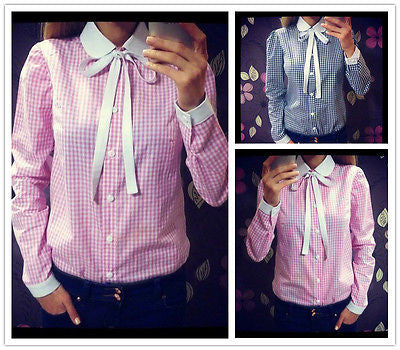 All Bowed Fashionable Blouse