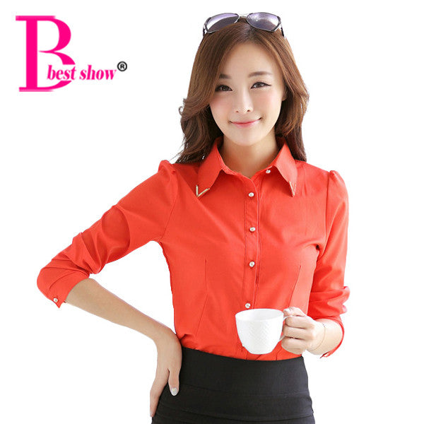 Charming Persona Long Sleeves Shirt