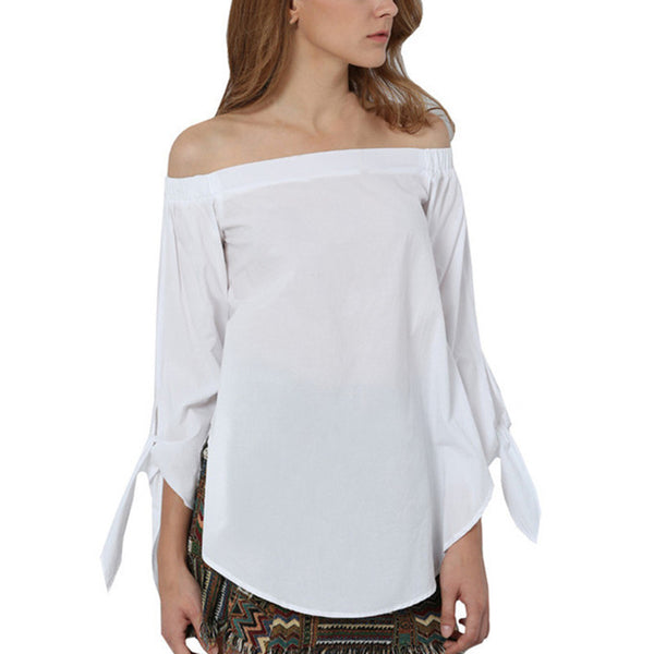 Oh So Sexy Off Shoulder Trendy Top
