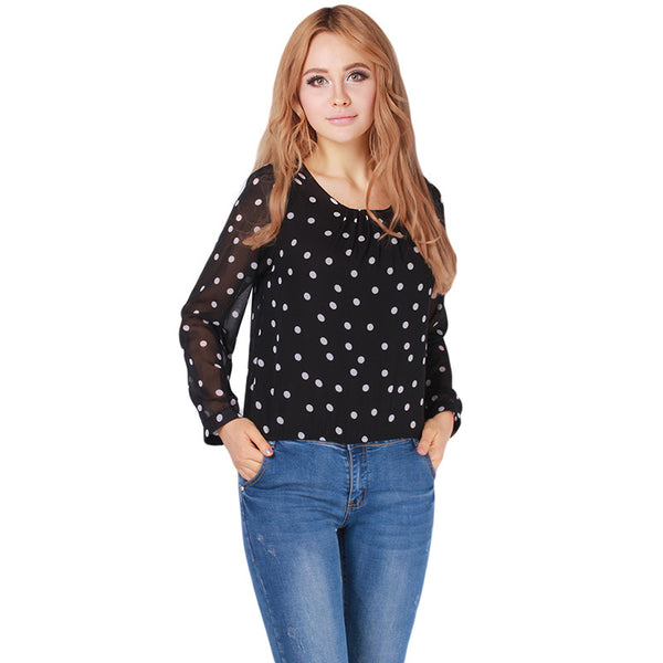 When I Found You Pretty Polka Dot Top