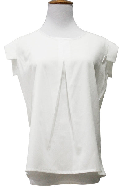 Pleats or Not? Sumptuous Pleated Top