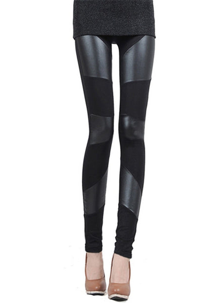 In Love With Leather Smart Leggings