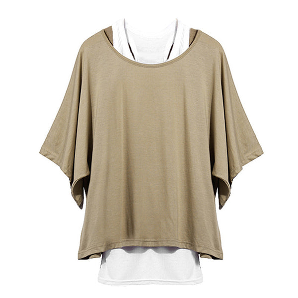 Fashionable Loose Batwing Tank Top