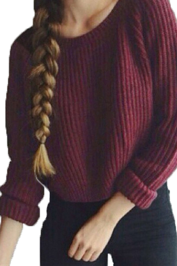 Hold Me in Your Arms Knitted Sweater
